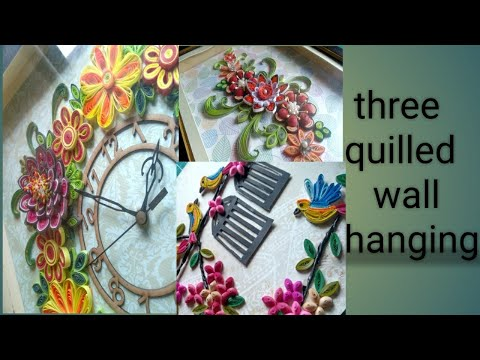Quilled Wall Hangings||Home Decor Ideas||
