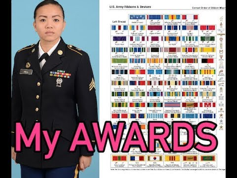 Army Service Uniforms | My Awards