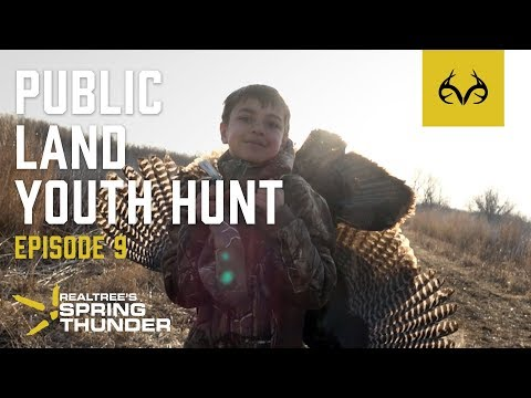 Spring Thunder Episode 9 | Little Brothers Go Turkey Hunting - Public Land Iowa Hunt