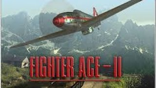 Fighter Ace II - Training Mission 1 - Gameplay (old games)