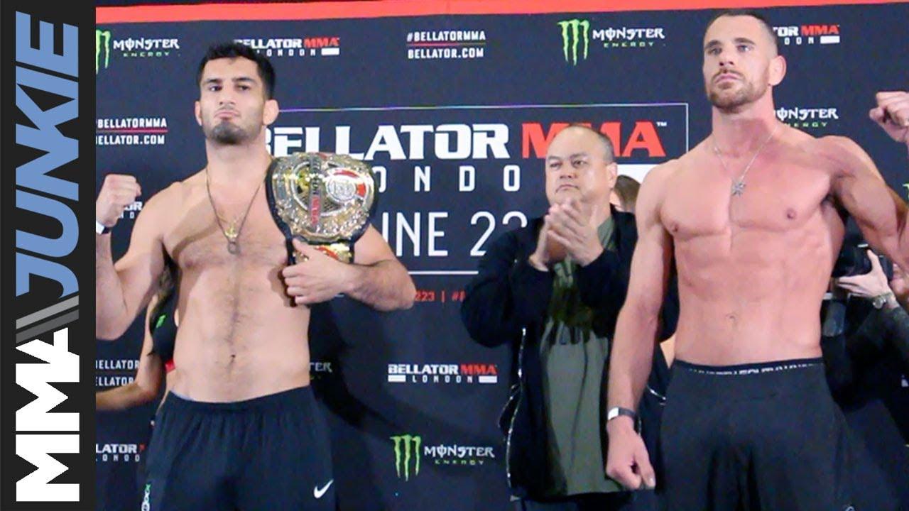 Bellator London: Ceremonial weigh-in highlights