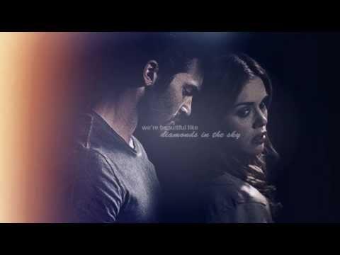 we're beautiful like diamonds in the sky | Lydia & Derek (AU)