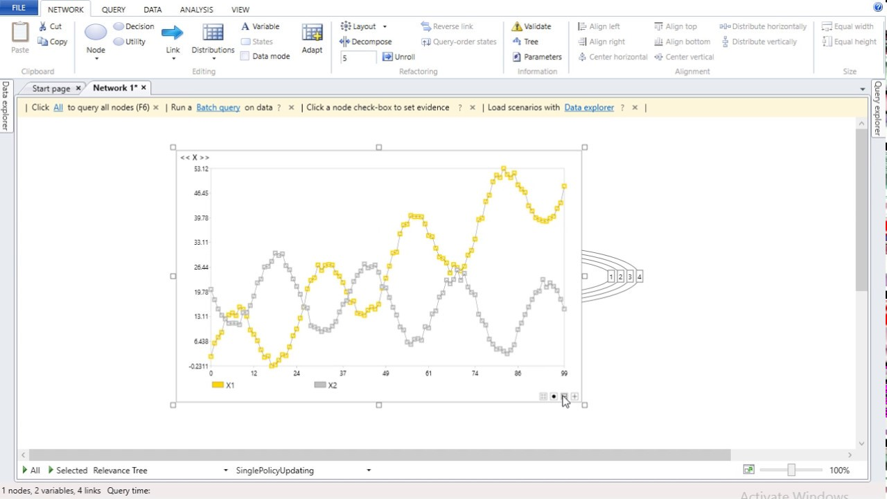 Bayesian network tutorial 3 - Time series