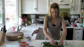 Sassy Cilantro & Red Bell Pepper Philly Phyllo Roll Ups