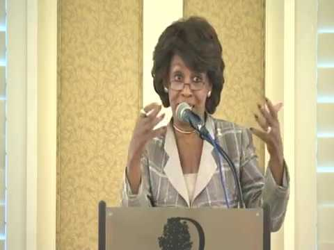 Congresswoman Maxine Waters & Congressman Ted Lieu speak at state of the region