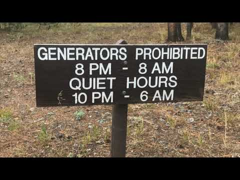 Should generators be allowed in National Park campgrounds?