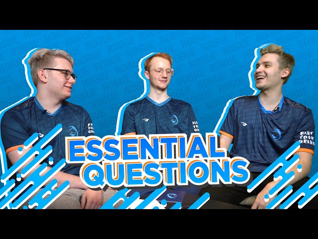 Who do Larssen, Inspired and Odoamne want to win against?
