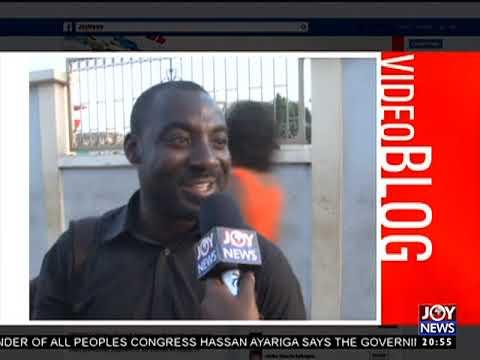 Black Stars Vs Egypt - Joy News Interactive (10-11-17)