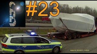 Sascha auf LKW-Tour #23 2015-02 C (Vom Elefantenrennen, Reifenplatzer und Standstreifenfahrer)