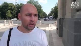 Protest: Jandarmeria nu ar mai avea dreptul moral de a trece pe sub Arcul De Triumf de 1 decembrie