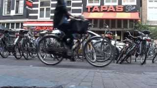 Bicycles in Amsterdam [Full HD]