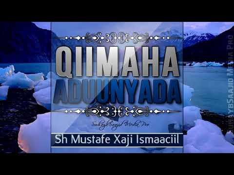 QIIMAHA ADDUUNYADA SHEIKH MUSTAFA HAJI ISMAIL