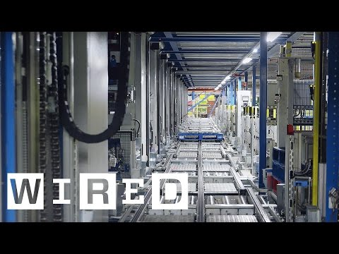 Inside Ocados Distribution Warehouse | WIRED