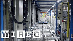 Inside Ocado's Distribution Warehouse | WIRED
