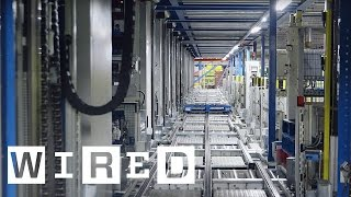 Inside Ocado's Distribution Warehouse | WIRED