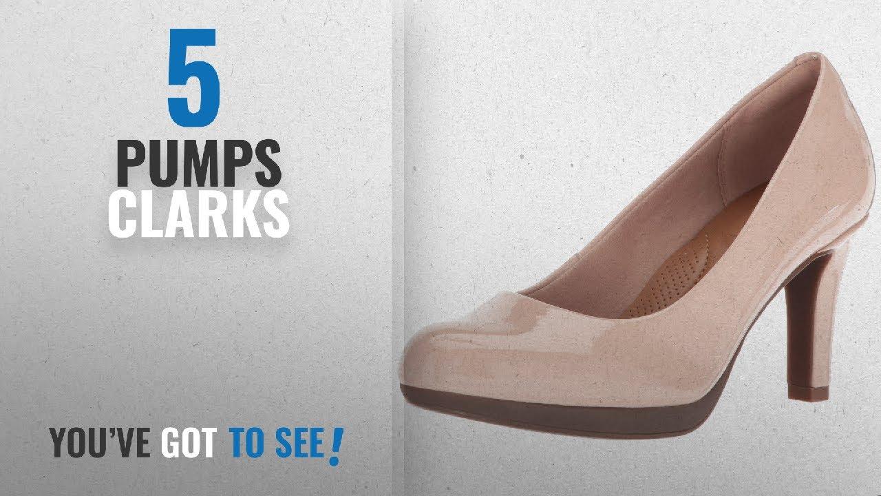71f917902e7 Top 5 Pumps Clarks [2018]: CLARKS Women's Adriel Viola Dress Pump, Dusty  Pink, 10 M US
