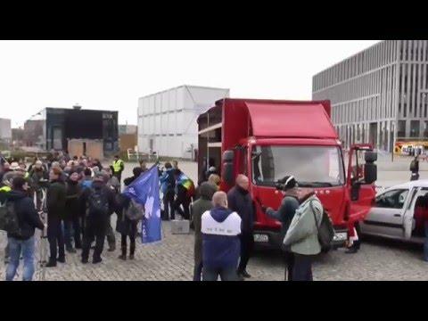 Teil 1 ENDGAME Demo Berlin 12.12.2015 Keine Deutsche Beteiligung am Krieg in Syrien