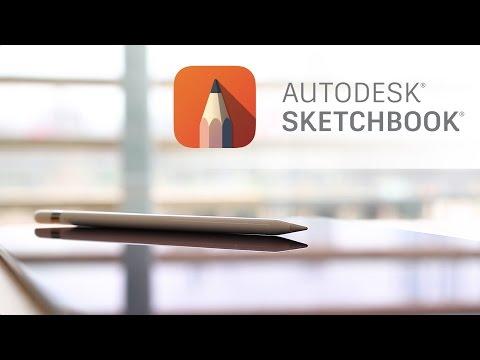 Autodesk SketchBook on iOS