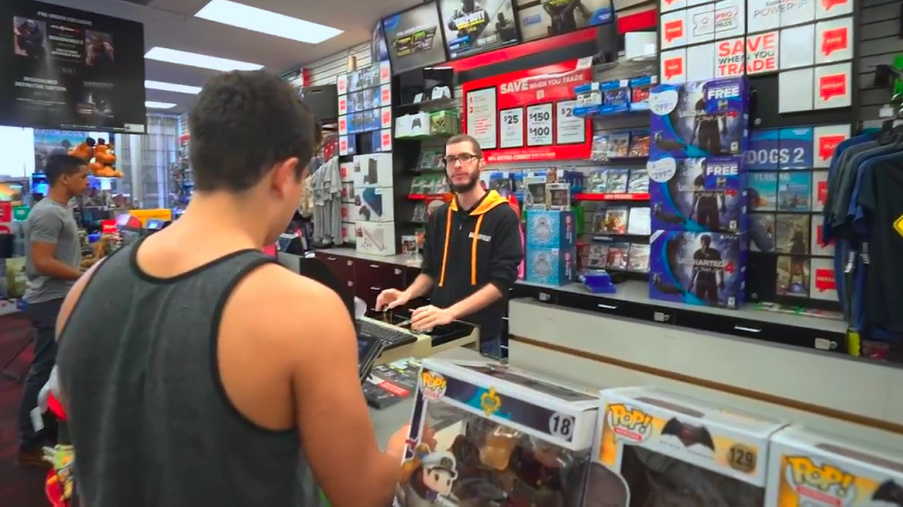 Kid Steals Dads Car To Buy Things In Gamestop Must Watch
