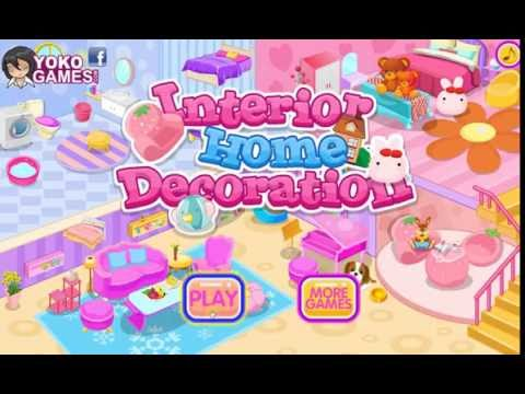 Interior Home Decoration- Free Kids Game Online - Youtube
