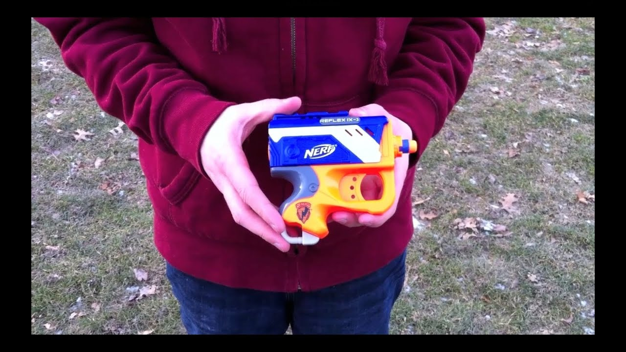 how to make a nerf stock