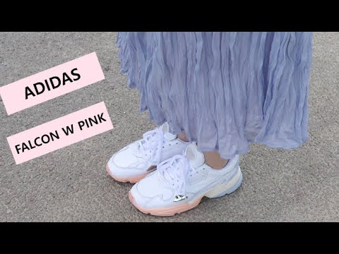 ADIDAS FALCON W PINK 아디다스 팔콘 W 핑크 언박싱!