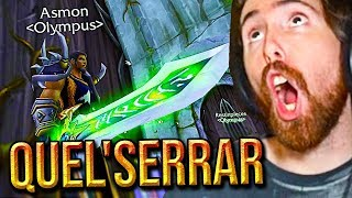 Asmongold Epic Adventure To Obtain The BEST SWORD In Classic WoW: Quel'Serrar