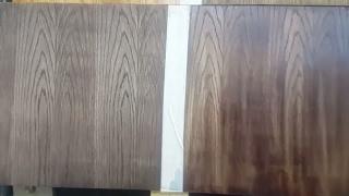 دهان الخشب قشرة سنديان Oak Veneer Panels Youtube