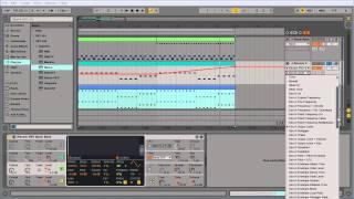Ableton Live плагины, автоматизация и экспорт