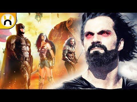 Justice League Major Superman Scene Description