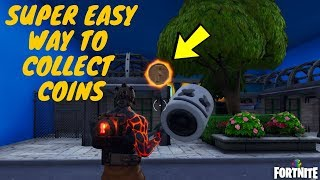 Fortnite - EASY WAY TO COLLECT COINS IN CREATIVE FEATURED ISLAND - OVERTIME CHALLENGES