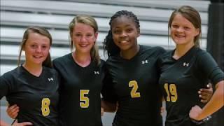 Halls High School Volleyball Senior Night September 27, 2018
