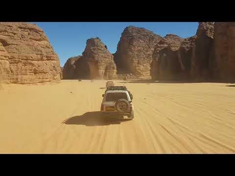 The Algerian Desert Djanet illizi