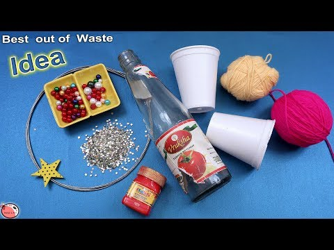 5 Christmas Decor Idea Using Old & Waste Materials || DIY Ch