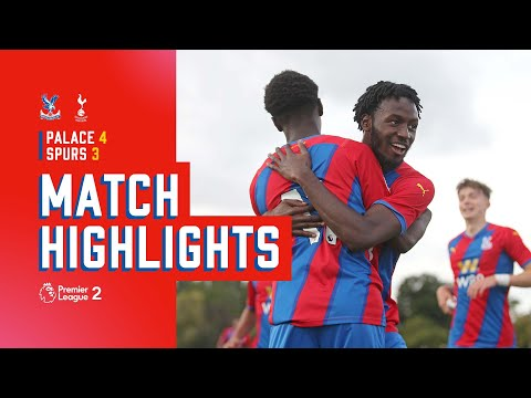 U23 victory in a seven-goal thriller |  Crystal Palace 4-3 Tottenham Hotspur