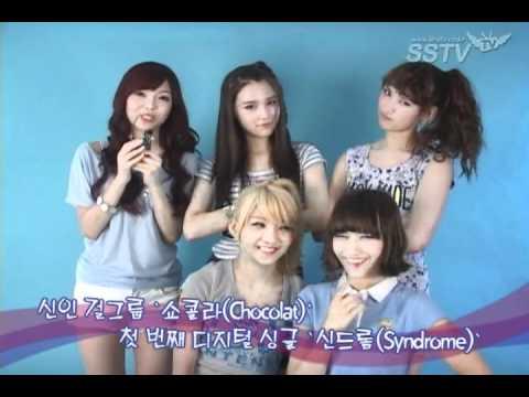110915 Chocolat SSTV Interview + Photoshoot