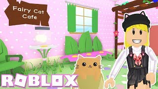 Tiny Fairy Cat Cafe! Roblox MeepCity (Part 2)