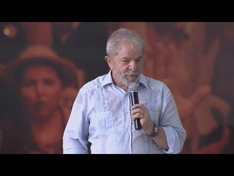 Polícia monta esquema de segurança para julgamento de Lula em Brasília | SBT Notícias (04/04/18)