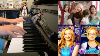 "Liv And Maddie - ""What A Girl Is"" ft. Christina Grimmie (Advanced Piano Cover)"