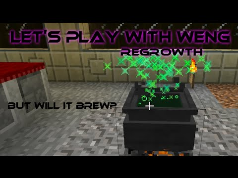 MineCraft | Regrowth | E25 | But will it Brew?