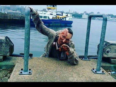 На пристани в Нью-Йорке обнаружили зомби. Зомби вирус захватил Америку. World War Z Глава 3