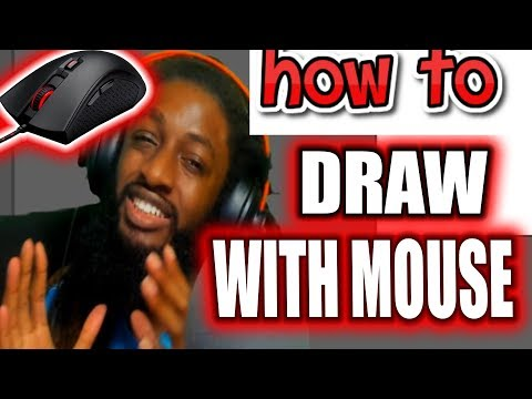 Step-by-Step Beginner HOW TO DRAW WITH MOUSE ( ADOBE ILLUSTRATOR ) thumbnail