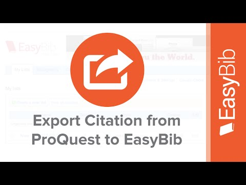English Essay Short Story Export Citations From Proquest Into Easybib  Easybibcom Politics And The English Language Essay also Www Oppapers Com Essays Export Citations From Proquest Into Easybib  Easybibcom  Youtube Health And Fitness Essay