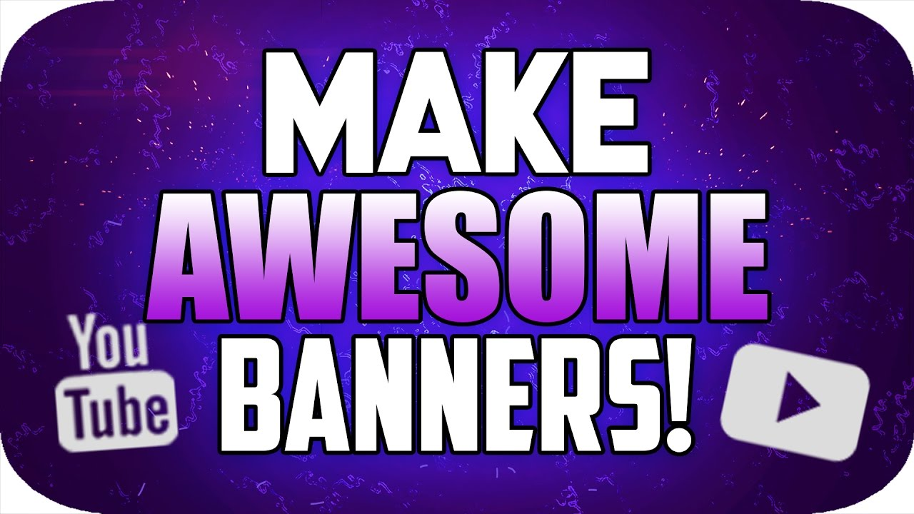 How to make website banners in photoshop cs6