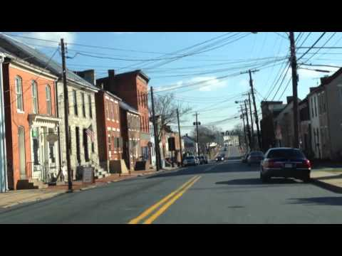 Maryland MVA Driving Test Route (Frederick - Route 1 of 3)
