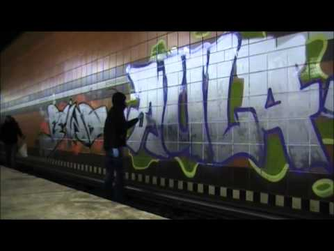 Station Graffiti - Hamburg/Germany - Feind & Aula [HD]