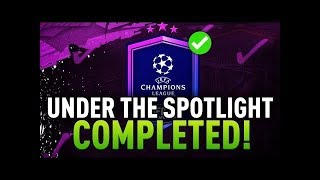 FIFA 20 - UNDER THE SPOTLIGHT & UEFA MARQUEE MATCHUPS SBC