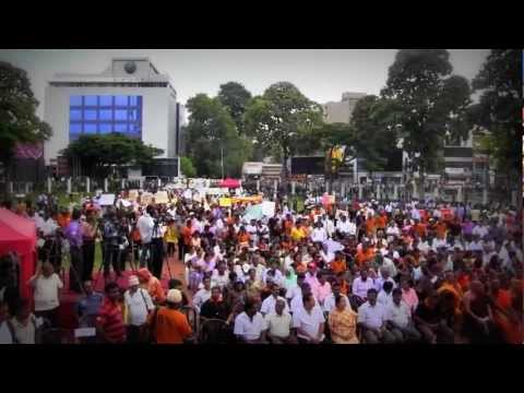 'Save State Education' - Public Rally in Colombo