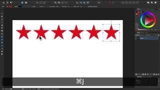 Affinity Designer - Teil 2: Praktische Kopierfunktion