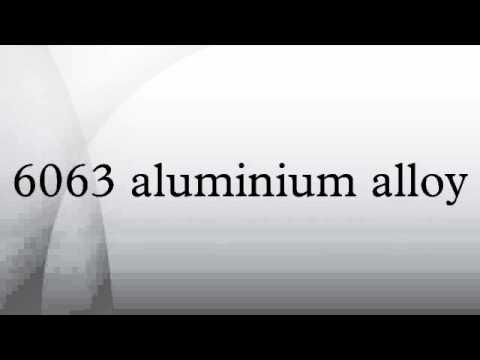 6063 aluminium alloy